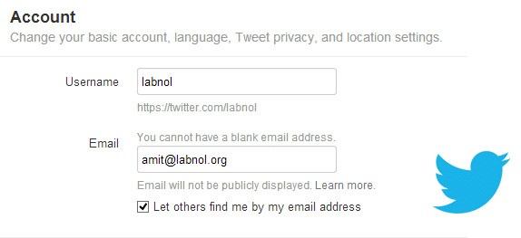 Can you link two Twitter accounts to one email