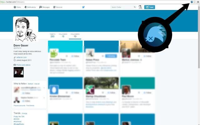 Delete Twitter followers in bulk
