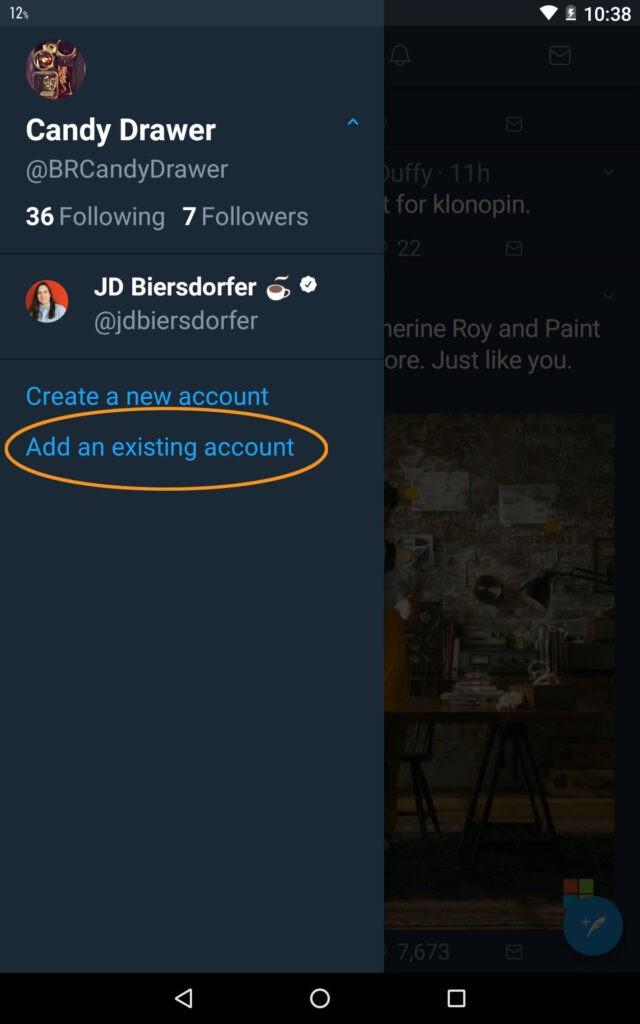 How to add multiple Twitter accounts - Vip-tweet