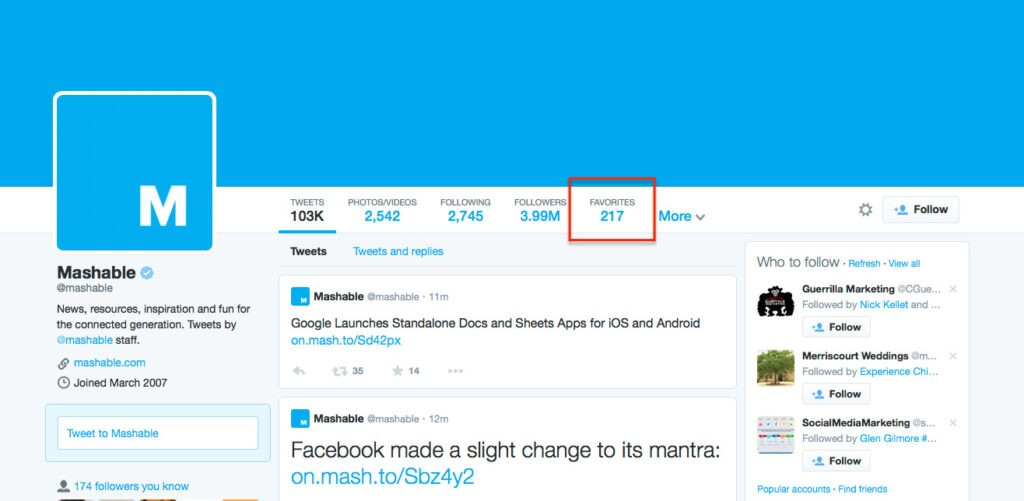 How to see all likes on Twitter - Vip-Tweet