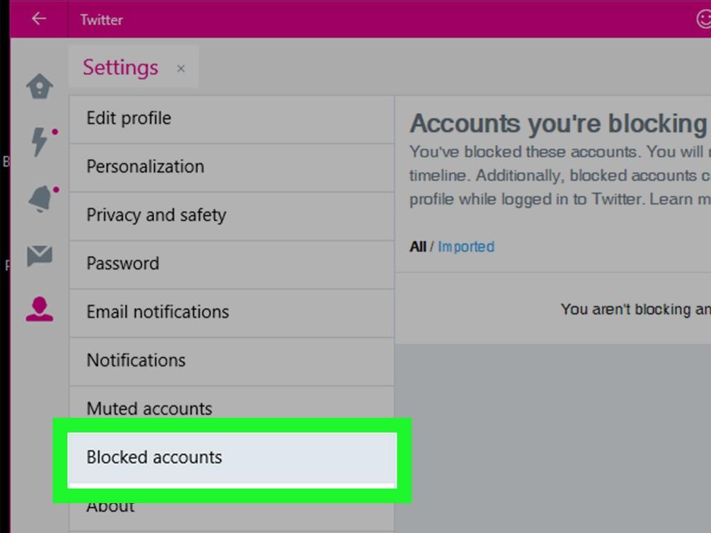 How to view blocked twitter accounts - Vip-Tweet