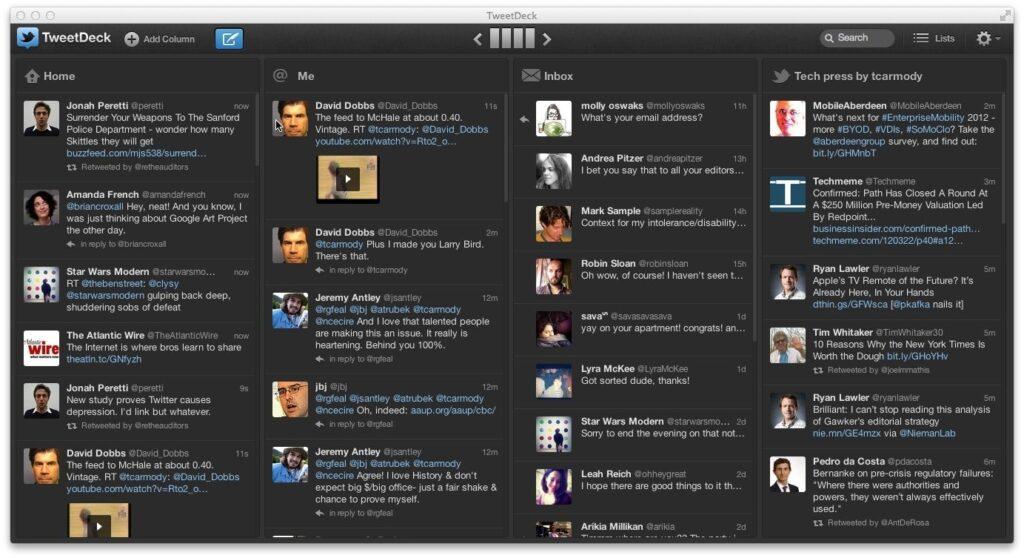 Log into multiple Twitter accounts - Vip-tweet