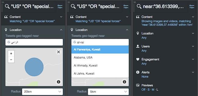 Tweetdeck location search - Vip-tweet